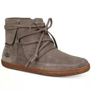 Ugg Reid flat ankle boots slate grey 9.5